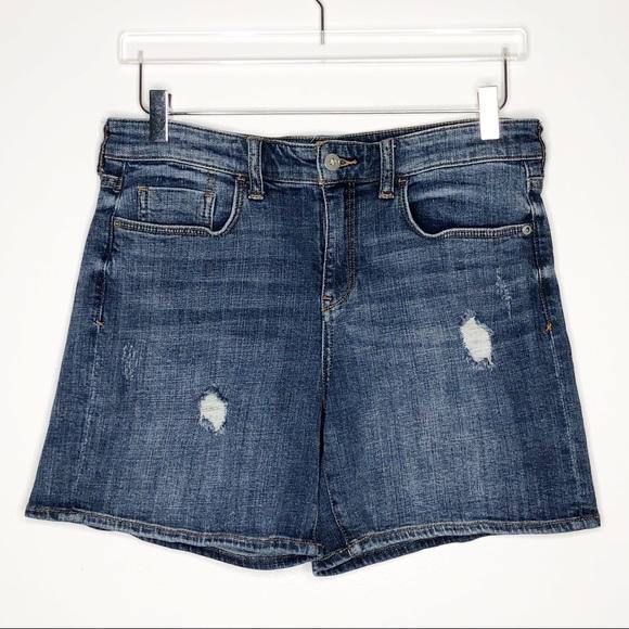 Anthropologie Pants - Anthro | Pilcro Distressed Slim Boyfriend Shorts